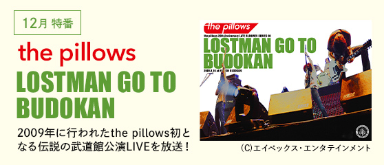 the pillows「LOSTMAN GO TO BUDOKAN」